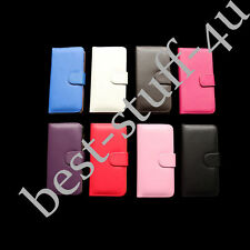 Magnetic Flip Leather Wallet Colors Case Cover Fit Iphone Apple Mobile Phone q15