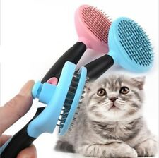 Clean Pet Grooming Tools Stainless Steel Massage Bath Comb Rake Dog Cat Shedding
