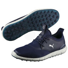 New - Puma Ignite Spikeless Sport Mens Golf Shoes - Peacoat/Silver/White- 189416