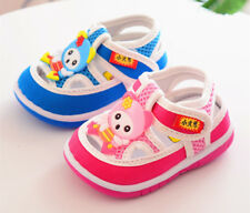 2018 Summer Cute Infant Sandals Baby Boys Girls Walking Shoes Squeaky Shoes