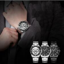 MEGIR Men Chronograph Waterproof Wristwatch Calendar Luminous Quartz Watch