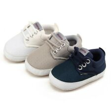 AU Toddler Pre-Walker Sneakers Infant Baby Trainer Boy Girl Crib Shoes 0-18M