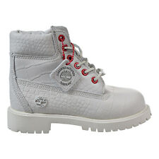 Timberland 6 Inch Youth Little Kids' Boots White TB0A1PIT
