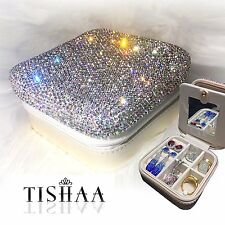 Bling Travel Jewelry Organizer Case Jewelry & Accessories Holder Pouch,GIFT, USA