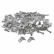 40pcs Electric Guitar Roller String Trees String Retainers with Screws