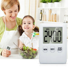 LCD Digital Cooking Timer Alarm Magnetic Count Down Up Kitchen Egg Clock