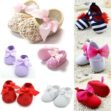Toddler Baby Shoes Newborn Girl Soft Soled Princess Crib Shoes Prewalker Booties