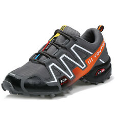 New Mens Outdoor Shoes Hiking Shoes Plus Size Trekking Trail Athletic Sneakers