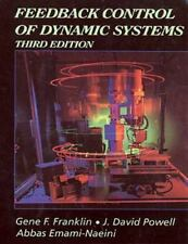 Feedback Control of Dynamic Systems (Addison-Wesley Series in Electrical and