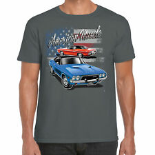 Mens Dodge USA Made T Shirt Classic Vintage American Mopar Muscle Car Clothing