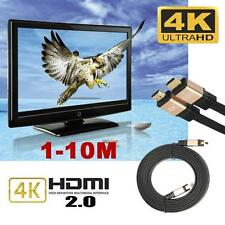 Ultra HD HDMI Cable v2.0 High Speed + Ethernet HDTV 2160p 4K 3D GOLD 10M 30ft QW