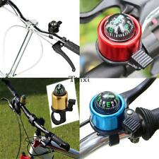 Bicycle Bell Road Mountain Bike Handlebar Ring Horn with Compass Bike TXWD