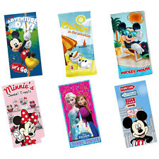 Disney Beach / Bath Towel Official Mickey Mouse Minnie Mouse Frozen - New + Tag