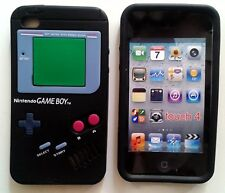 3D Cute Game Boy controller Silicon soft Case Cover for ipod Touch4 4th Gen