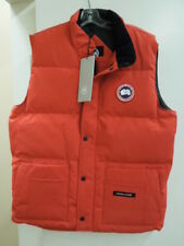 MEN'S CANADA GOOSE FREESTYLE CREW VEST - RED -  XL - #4154M $365.00
