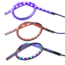 Exhaust Tail Pipe Heated LED Light Strip Modification Firing For Motorcycle Car