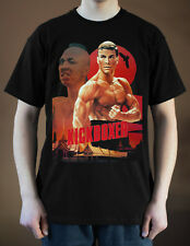KICKBOXER Movie poster ver. 1 Jean-Claude Van Damme T-Shirt (Black) S-5XL