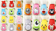 Cartoon Clothes For Dog And Cat Dog Shirt For Small Pet Pajamas Casual Wear SALE