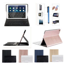 For Apple iPad Smart Wireless Bluetooth Keyboard With Slim Flip Stand Case Cover