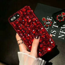 Luxury Diamond Rhinestone Bling Girl Jeweled Crystal Back Case Cover for iPhone