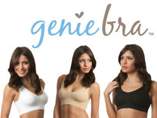 Genie Classic Bra With Removable Pads White, Beige or Black (2 Bras)