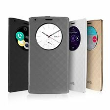 Luxury Quick Circle Smart Window View Slim Wallet Flip Case Cover For LG G3 00