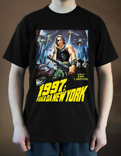 ESCAPE FROM NEW YORK Movie poster ver. 3 Kurt Russell T-Shirt (Black) S-5XL