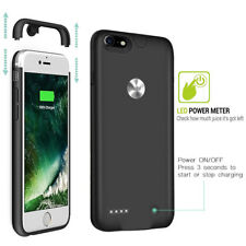 External Portable Battery Backup Power Bank Charger Case Cover For iPhone 8 Plus