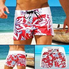 Men's Swimwear Swimming Boxers Trunks Swim Floral Beach Pants Shorts Underwear