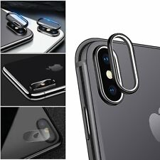 For iPhone X Hardness Back Camera Lens Tempered Glass Film Protector Cover