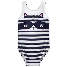 NWT Gymboree Raccoon swimsuit Toddler Girls UPF 50+ 12/18/24,2T,3T,4T,5T