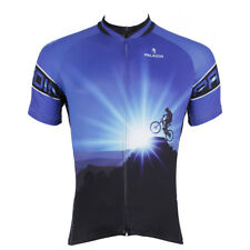 Men's Sports Team Cycling Jersey Clothing Bicycle Short Sleeve Tops Quick Dry