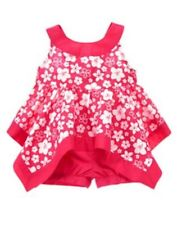 NWT Gymboree Surf Adventure Pink floral Swing Top Shorts Set 3 6 12mo Baby Girl