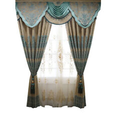 luxury chenille thicken American cloth blackout curtain tulle valance N228