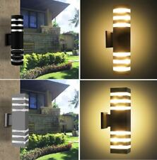 NEW E27 Up/Down LED Outdoor Light Fixture Exterior Wall Mount Lamp Waterproof US