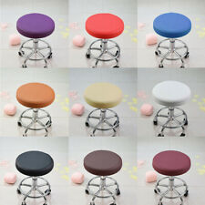 Bar Stool Slip On Seat Cover Barstool Slip Cover Round Chair Seat Pad 13''