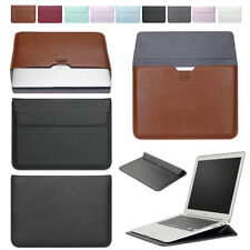 PU Leather Envelope Laptop Sleeve Carry Bag Case For Macbook Air Retina Pro