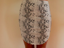 Women's Luvalot Clothing Snake Skin Look Party Gorgeous Pencil Skirt