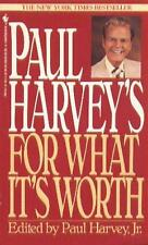 Paul Harvey's For What It's Worth-ExLibrary