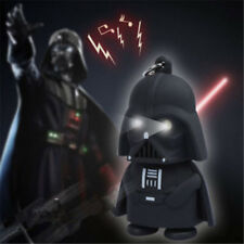 Cool Red Light Up LED Star Wars Darth Vader With Sound Keyring Keychain Gift 1pc