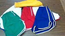 vintage 70s 50/50 COTTON TWILL GYM SHORTS MENS ALL SIZES USA MADE