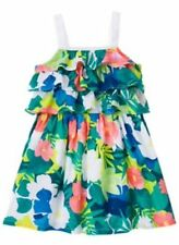 NWT Gymboree Sunny Safari tiered flower dress Toddler Girls 12 18 24M 2T 3T 4T 5