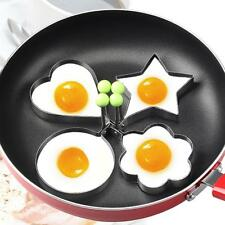 Stainless Steel Pancake Mould Mold Ring Cooking Fried Egg Shaper Kitchen Tool GU
