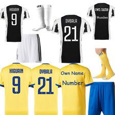2018 Football Kits Soccer Short Sleeve Kids Boy Team Jersey Suits Adults Youth