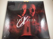 THE X FILES Laserdisc Movie (Widescreen) New Sealed Great Condition