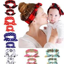 Mommy and me Matching Headbands Photo Prop Gift for Mom and Kids gift 2Pcs/Set