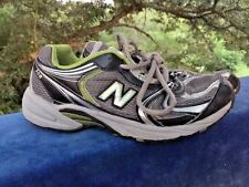 SALE @ NEW BALANCE 508 Athletic Running Walking Silver Green Boys Shoes Sz 4 :