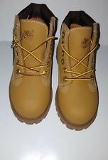 TIMBERLAND TODDLER 6-INCH PREMIUM WATERPROOF HELCOR BOOTS/ 6586R/ M/M/WHEAT