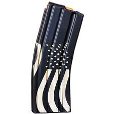 ASC 10-Round Long Magazine 5.56/223/300BLK Enhanced SS 10rd Mag - American Flag
