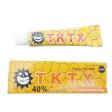 TKTX 40% More Numbing 25 minutes numb Tattoo Cream Semi Permanent 10g Solid